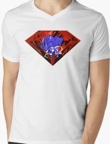 Blood Crystal Suicune Mens V-Neck T-Shirt