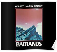 Halsey / BADLANDS Special Design Poster