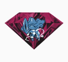 Shiny Blood Crystal Suicune One Piece - Short Sleeve