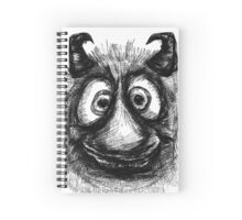 Friendly Monster Spiral Notebook