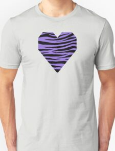 0418 Medium Purple Tiger Unisex T-Shirt
