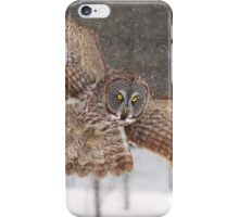 Awesome! - Great Grey Owl iPhone Case/Skin