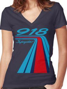 918 Women's Fitted V-Neck T-Shirt