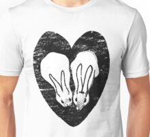 Huddling Rabbits Unisex T-Shirt