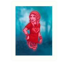 Izabel from Saga Graphic Novel Art Print