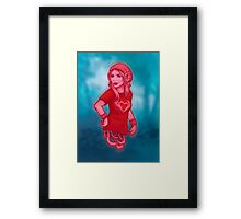 Izabel from Saga Graphic Novel Framed Print