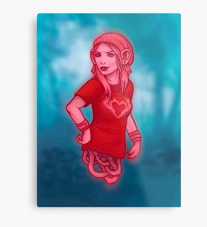 Izabel from Saga Graphic Novel Metal Print