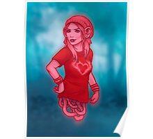 Izabel from Saga Graphic Novel Poster
