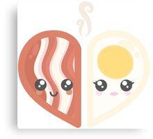 Bacon & Egg Canvas Print