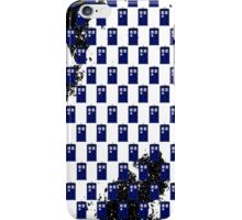 Doctor Who Tardis In Space... iPhone Case/Skin