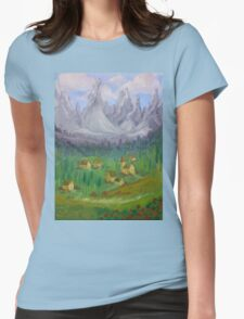 Italian Countryside Womens Fitted T-Shirt