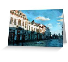 Side Street Greeting Card