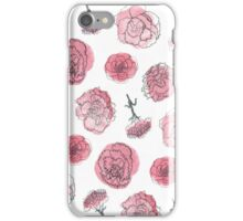 Pink Carnation - January iPhone Case/Skin