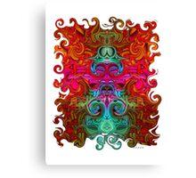 The Purfled Acid Pole Canvas Print