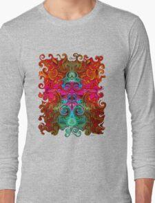 The Purfled Acid Pole Long Sleeve T-Shirt