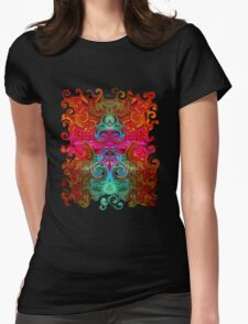 The Purfled Acid Pole Womens Fitted T-Shirt