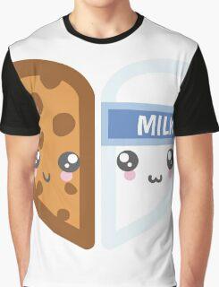 Milk & Cookie Graphic T-Shirt