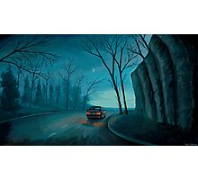 Night Ride Photographic Print