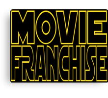 Movie Franchise Canvas Print