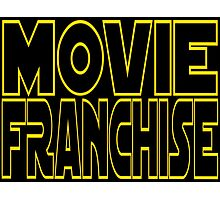 Movie Franchise Photographic Print