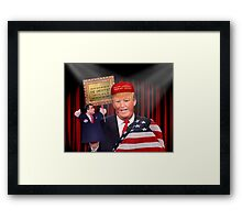 THE GREATEST TRUMP ON EARTH Framed Print