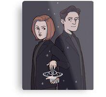 X-Files Metal Print