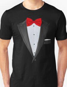 Realistic Tuxedo Shirt Unisex T-Shirt