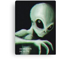 Alien Sighting Canvas Print
