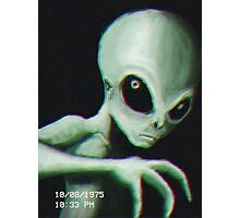 Alien Sighting Photographic Print