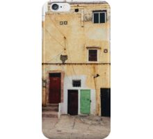 Old Yellow House Facade iPhone Case/Skin
