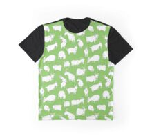 Charity fundraiser - Green Goats Graphic T-Shirt