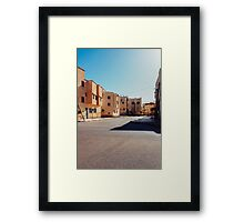 Buildings in Small Moroccan Town Framed Print