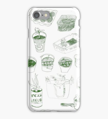 Cover, CONTAIN, Compost - 2 of 3 iPhone Case/Skin