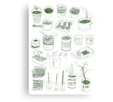 Cover, CONTAIN, Compost - 2 of 3 Canvas Print