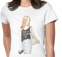 Lipstick Sister BE KIND Womens Fitted T-Shirt