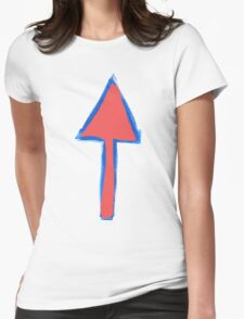 Arrows Before Bullets Womens Fitted T-Shirt