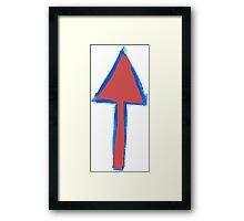Arrows Before Bullets Framed Print