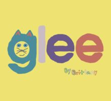 Glee by brittany Kids Tee
