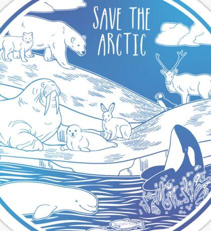 Save the Arctic! Sticker
