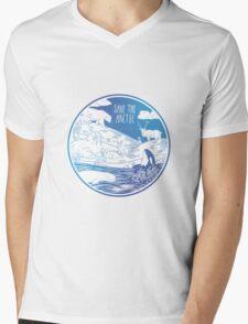 Save the Arctic! Mens V-Neck T-Shirt