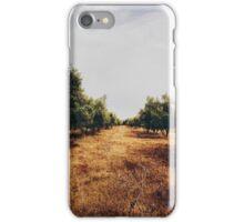 Olive Tree Plantation iPhone Case/Skin