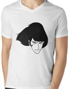 Gaemon Lupin The Third Mens V-Neck T-Shirt