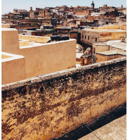View Over Historic Centre of Fez (Morocco) Sticker