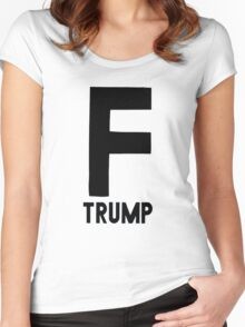 F Trump Women's Fitted Scoop T-Shirt