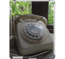 Out Of Date Telephone iPad Case/Skin