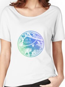 Save the Rainforest! Women's Relaxed Fit T-Shirt