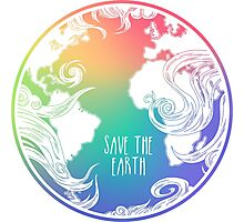 Save the Earth! Photographic Print