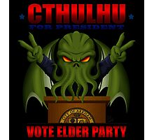 Cthulhu for President Photographic Print