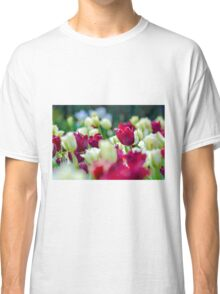 Tulips Red Classic T-Shirt