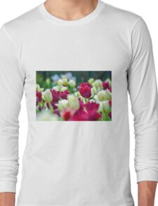 Tulips Red Long Sleeve T-Shirt
